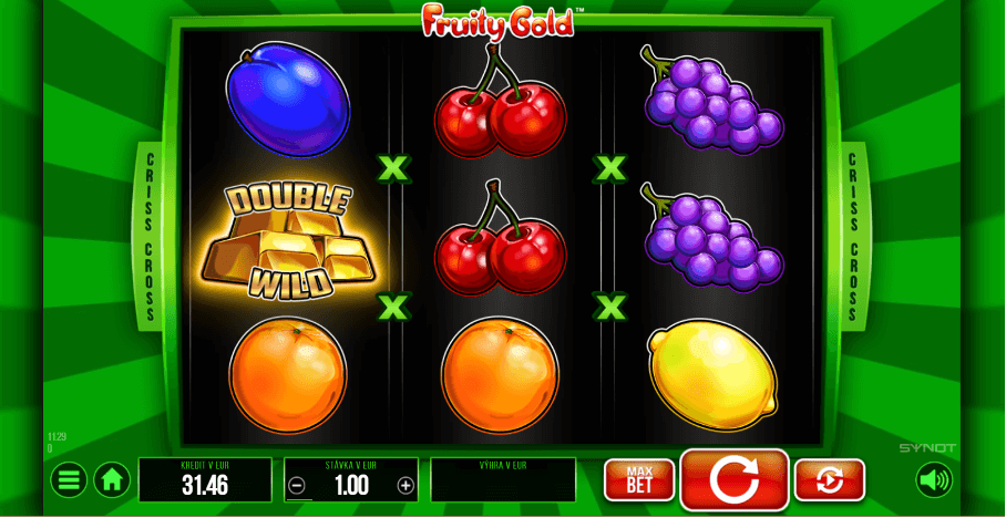 Fruity Gold - Double Wild symbol